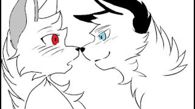 Коты Воители Мой Комикс 1 часть - История Редколапки