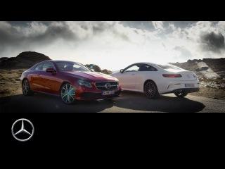 The new E-Class Coupé – Trailer – Mercedes-Benz original