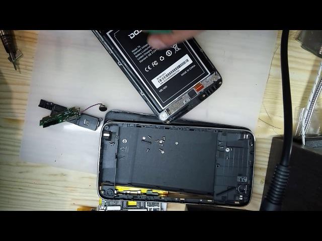 Разборка и ремонт телефона Doogee T6