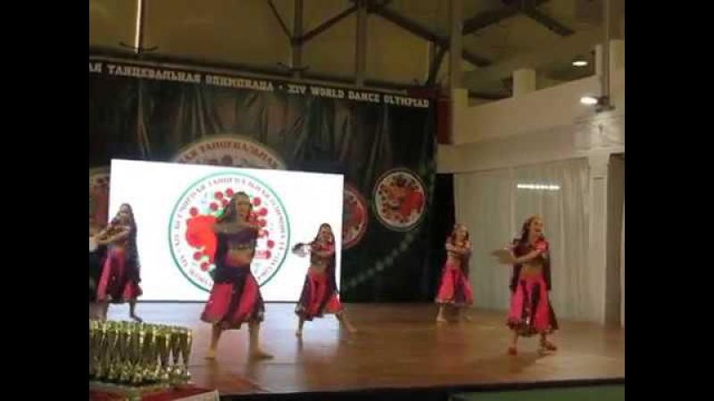 Школа индийского танца Амрапали. Болливуд малая группа. ВТО 2017. Sultana Sultana