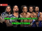 WWE Battleground 2017 SD Live Tag Team Championship The Usos vs. The New Day Predictions WWE 2K17
