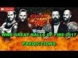 WWE Great Balls Of Fire 2017 Raw Tag Team Championship Cesaro &amp Sheamus vs. The Hardy Boyz WWE 2K17