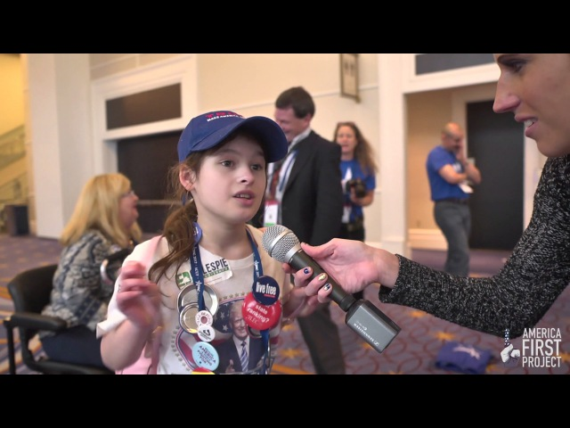Young Trump Girl: