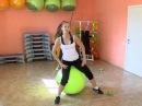 Фитбол Эффективные упражнения для похудения