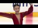 Yixuan ZHANG CHN Ladies Free Skating MINSK 2017