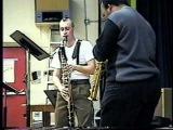 Blue 7 (excerpt) bass clarinet &amp soprano sax improvisation (Cornelius Boots &amp Rahsaan Barber)