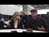 ENG Barbara Sukowa и Todd Stashwick 12 Обезьян  12 Monkeys NYCC 2015
