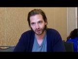 ENG Aaron Stanford Talks 12 Обезьян  12 Monkeys Season 2