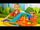 Машинки ХОТ ВИЛС для детей - Сборник интересных видео для детей про машинки HOT WHEELS