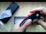 Нож Shirogorov f3 little defect.