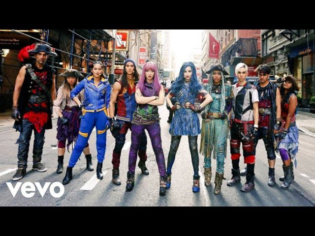 Descendants 2 performance - Ways to be wicked/What´s my name on GMA