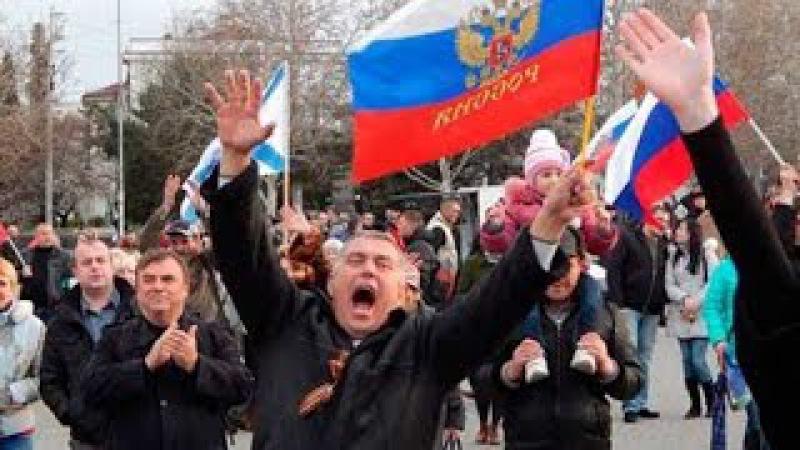 Четвёртый год в Kpымy под властью Путина.