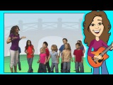 Stand Up, Sit Down Children's song by Patty Shukla Popular Nursery rhymes for Kids and Toddlers