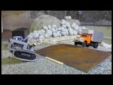 RC machines 143 scale! RC miniature machines from Daimler-MAR electronic conversion!!