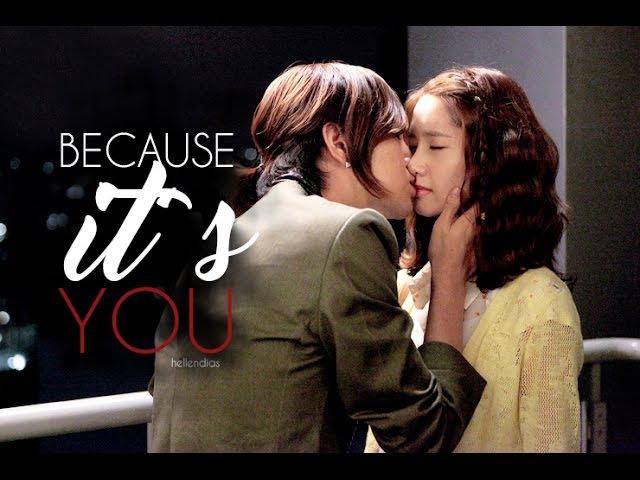 BECAUSE IT'S YOU - Jang Geun Suk Yoona (사랑비)