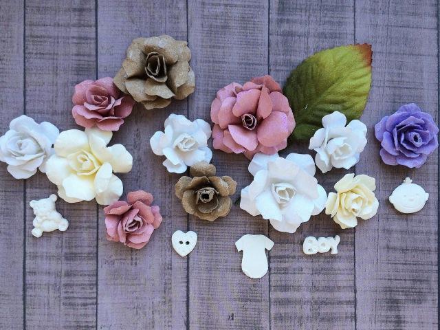 Скрапбукинг мастер-класс: цветы из бумаги. Обзор китайских ножей для вырубки и детского молда. DIY