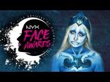 NYX Face Awards Russia 2017  Ocean spirit tutorial by Sofia Markova  #FACEAWARDSRUSSIA2017