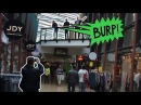 Extreme Burping In Public 9 With Friends Terrorising The Shopping Mall