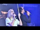 Миляновская Аурика и Сыр Сергей #0010 - Четвертьфинал - Шоу талантов Broadway 2017