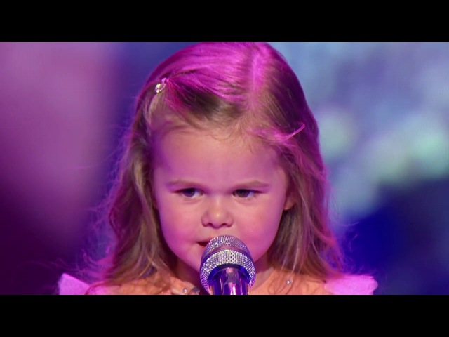 Little Big Shots Adorable 3 yr old Claire sings Little Mermaid