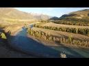 Осенний Горный Алтай, снятый с квадрокоптера.