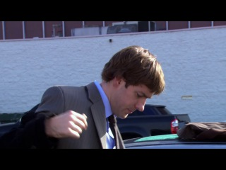 Dwight getting ready for sales - Leave the keys (HD)