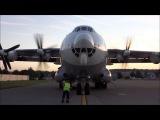 Запуск двигателей Ан-22 - это зверская песня!