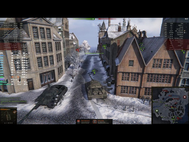 World of Tanks - Aorus GTX 1080 Ti Xtreme Edition i7 7700k @1440p 1080p - G-SYNC on\off NO MODS