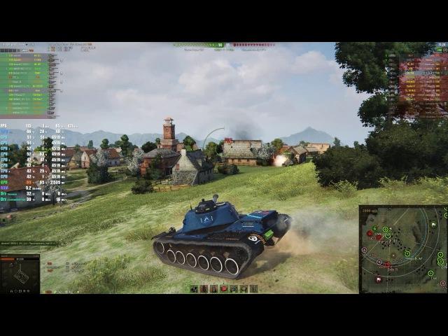 World of Tanks - Aorus GTX 1080ti Xtreme Edition 7700k @1440p 1080p - G-SYNC on\off (MANY MODS)