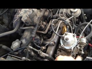 Тойота 2ct дизель настройка мотора и тнвд часть 1