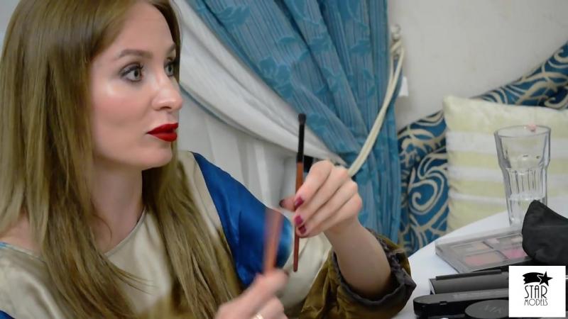 Встреча участниц конкурса красоты и таланта - МИСС ЕВПАТОРИЯ 2018 с - Юлией Борщевой.
