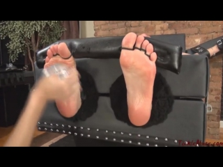 Veronika's First Time Tickled