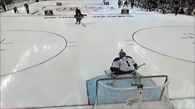 Креативные финты и трюки в хоккее