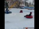 Зимний аттракцион Бублик-кросс