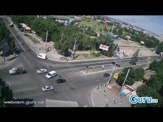 ДТП в Мариуполе пр. Мира - пр. Строителей.