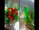 Букет из конфет тюльпаны нарциссы