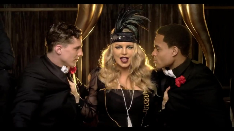 Fergie - A Little Party Never Killed Nobody HD клип (All We Got) (ft Q-Tip GoonRock) певица Ферджи группа хиты нулевых 2000-х