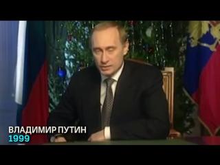 Новогодние обращения президентов России и генсеков ЦК КПСС