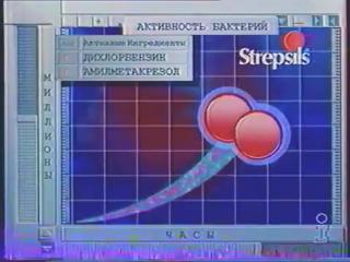 [staroetv.su] Рекламный блок (Інтер, декабрь 1997) Корона, Nescafe, Strepsils, Paulig