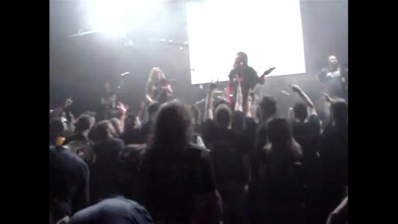 1 NERVOSA - live in Russia at The Brooklyn (Moscow) (part 1) (30.08.15)