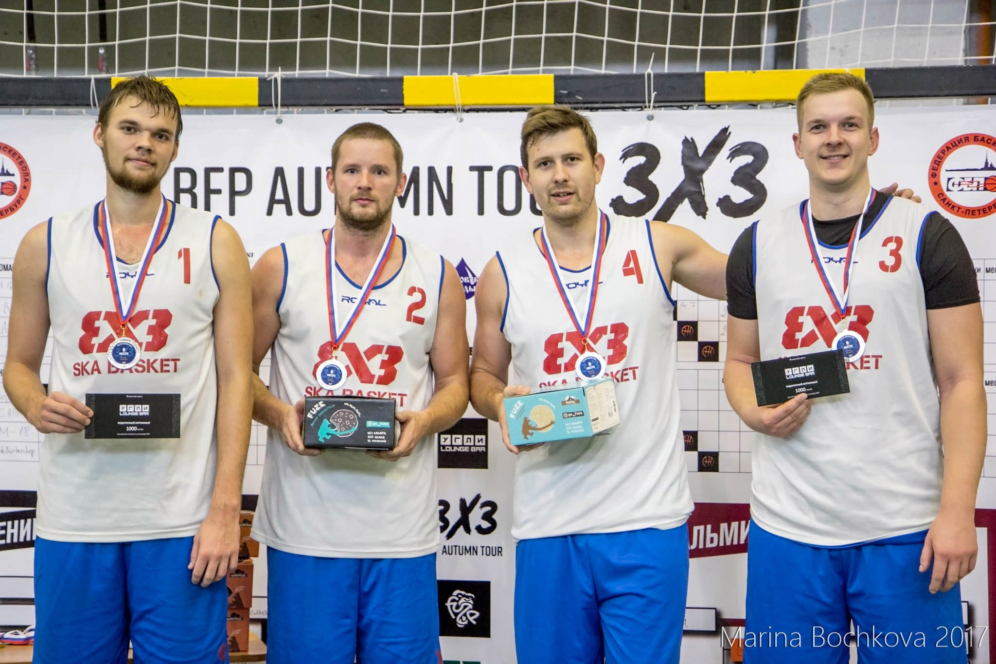 SKA Basket - серебряный призёр Дивизиона «Ленинград» BFP Autumn Tour 3x3