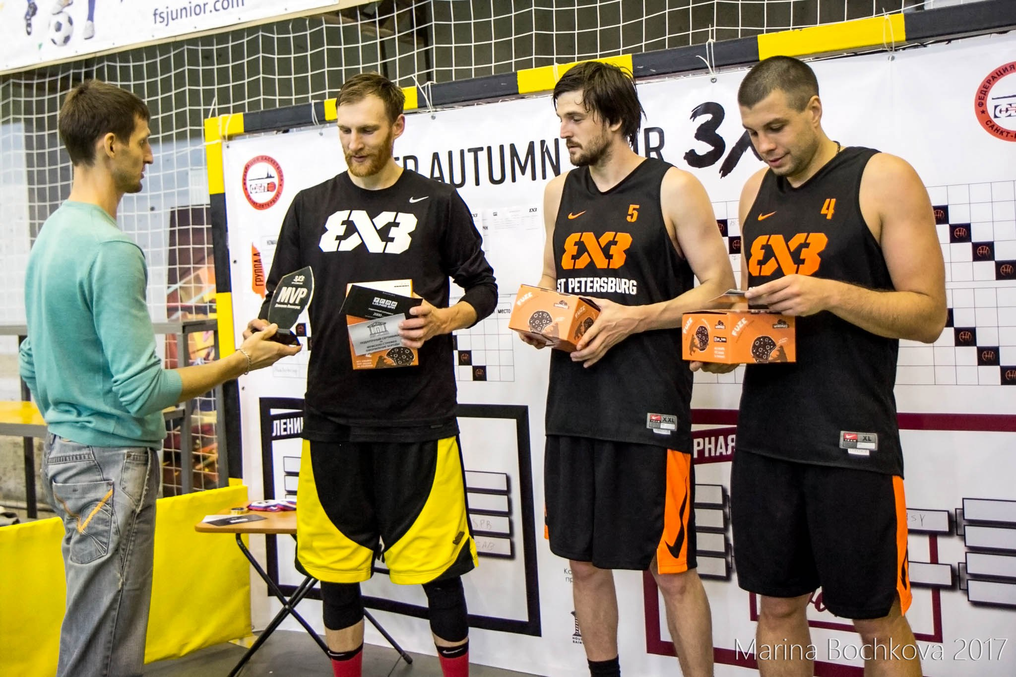 Александр Лисичкин - MVP Дивизиона «Ленинград» BFP Autumn Tour 3x3