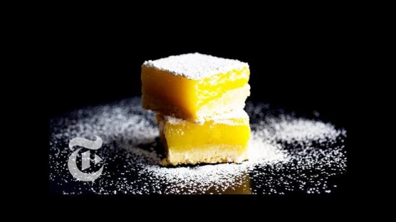 Lemon Bars With Olive Oil and Sea Salt | Melissa Clark Recipes | The New York Times