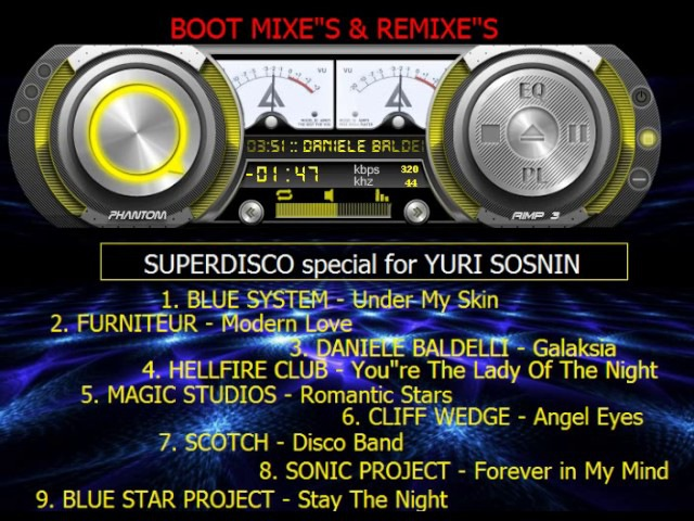 SUPERDISCO special for YURI SOSNIN ( good luck to all )