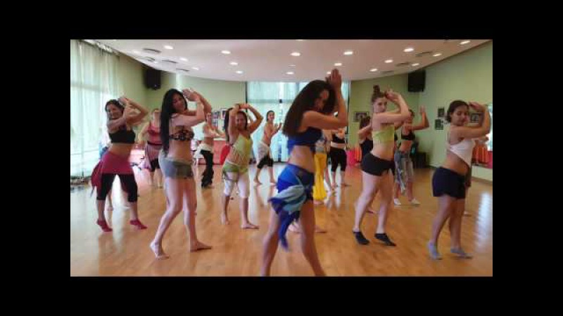 Orit Maftsir bellydance workshop in Italy 2016 hot Baladi