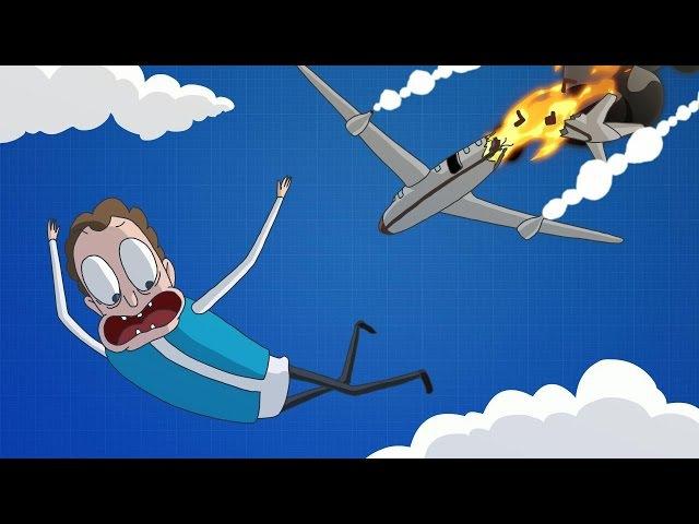 Боб прыгнул с 10 000 метров без парашюта (эпизод 1, сезон 1)