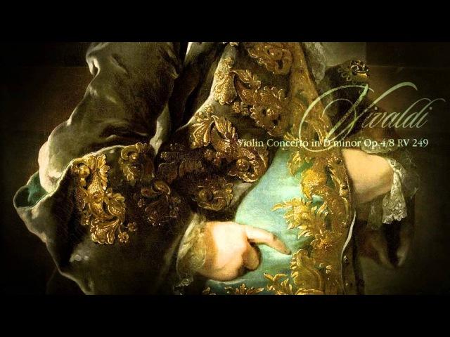 A. VIVALDI: Violin Concerto No.8 in D minor Op.4 La Stravaganza RV 249, Concerto Italiano