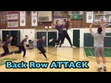 Spiking from the BACK ROW (10 foot line  3 meter line) - How to SPIKE a Volleyball Tutorial