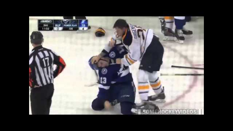 Tampa Bay Lightning vs. Buffalo Sabres- Brawl 12/04/14