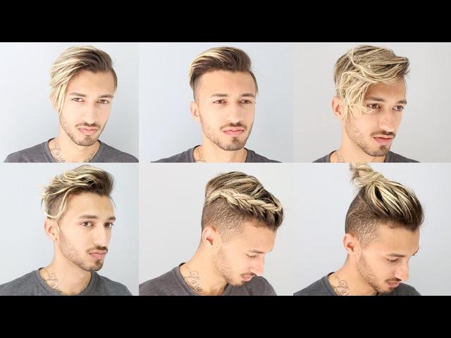 6 Penteados Cabelo Masculino com Franja Tendências 2017   Felipe Gomez